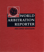Cover of World Arbitration Reporter Looseleaf