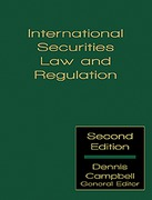 Cover of International Securities Law and Regulation Looseleaf
