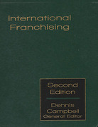 Cover of International Franchising Looseleaf