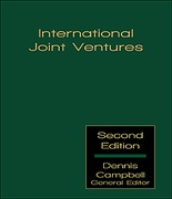 Cover of International Joint Ventures Looseleaf