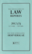 Cover of The South African Law Reports: Parts Only