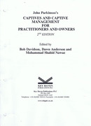 Cover of John Parkinson's Captives and Captive Management for Practitioners and Owners