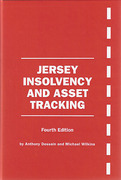 Cover of Jersey Insolvency and Asset Tracking 4th ed with 1st Supplement