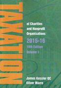 Cover of Taxation of Charities and Non-Profit Organisations 2015-16