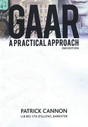 Cover of GAAR: A Practical Approach