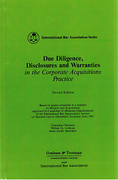 Cover of Due Diligence, Acquisitions and Warranties in the Corporate Acquisitions Practice