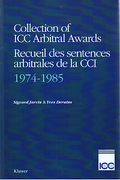 Cover of Collection of ICC Arbitral Awards 1974-1985