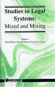 Cover of Studies in Legal Systems: Mixed and Mixing
