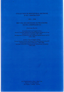 Cover of Collection of Procedural Decisions in ICC Arbitration (1993-1996)