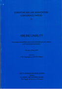 Cover of Airline Liability: A Seminar on Liability and Claims Handling in the Airline and Aerospace Industries