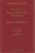 Cover of The Use of Comparative Law by Courts