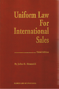 Cover of Uniform Law for International Sales under the 1980 UN Convention