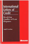 Cover of International Letters of Credit: Resolving Conflict of Law Disputes