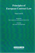 Cover of Principles of European Contract Law: Parts I and II