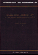 Cover of International Securities Law: Contemporary & Comparative Analysis