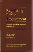Cover of Regulating Public Procurement: National and International Perpsectives