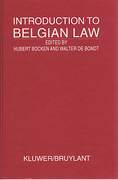 Cover of Introduction to Belgian Law