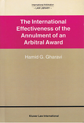 Cover of The International Effectiveness of the Annulment of an Arbitral Award