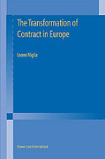 Cover of The Transformation of Contract in Europe