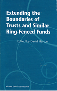 Cover of Extending the Boundaries of Trust and Similar Ring-Fenced Funds
