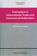 Cover of Corruption in International Trade and Commercial Arbitration