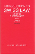 Cover of Introduction to Swiss Law