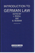Cover of Introduction to German Law