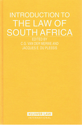 Cover of Introduction to the Law of South Africa