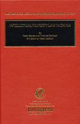 Cover of Intellectual Property Law In China
