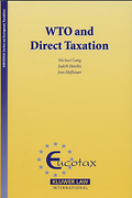 Cover of WTO and Direct Taxation