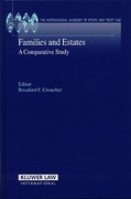 Cover of Families and Estates: A Comparative Study