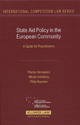 Cover of State Aid Policy In The European Community: A Guide for Practitioners