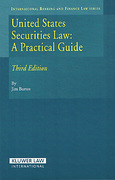 Cover of United States Securities Law: A Practical Guide 3rd ed