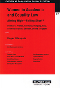 Cover of Women in Academia and Equality law: Aiming High - Falling Short