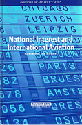 Cover of National Interest and International Aviation