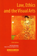 Cover of Law, Ethics and the Visual Arts