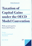 Cover of Taxation of Capital Gains under the OECD Model Convention: With Special Regard to Immovable Property