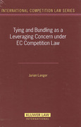 Cover of Tying and Bundling as A Leveraging Concern Under EC Competition Law