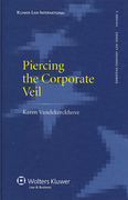 Cover of Piercing the Corporate Veil: A Transnational Approach