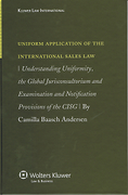 Cover of Uniform Application of the International Sales Law