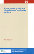 Cover of Comparative Study of Shareholders Derivative Actions: England, the United States, Germany and China