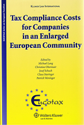 Cover of Tax Compliance Costs for Companies in an Enlarged European Community