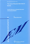 Cover of The Law of Payment Services in the EU: The EC Directive on Payment Services in the Internal Market