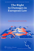 Cover of The Right to Damages in European Law