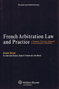 Cover of French Arbitration Law and Practice