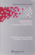 Cover of Arbitrability: International & Comparative perspectives