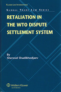 Cover of Retaliation in the WTO Dispute Settlement System