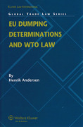 Cover of EU Dumping Determinations and WTO Law