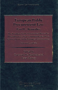 Cover of European Public Procurement Law: Part II Remedies - European Public Procurement Remedies Directives and Jurisprudence by the Court of Justice of the European Communities