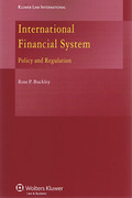 Cover of International Financial System: Policy and Regulation